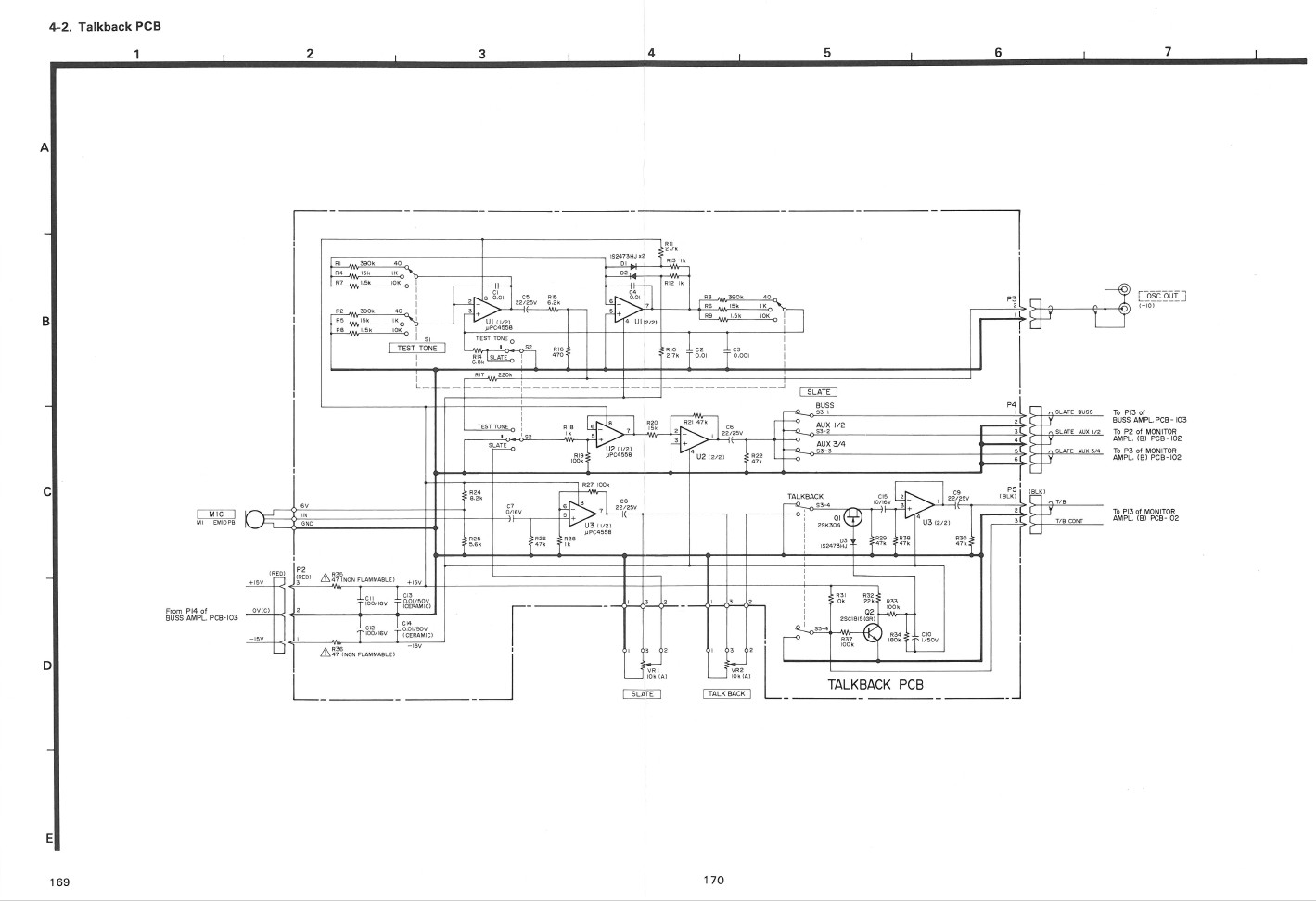 M 512_520 Talkback PCB Schematic index of ftp share pictures tascam m520  at alyssarenee.co